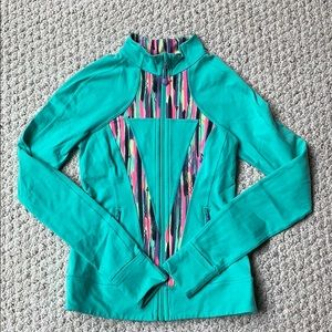 Ivivva / lululemon zip up jacket girls size 12